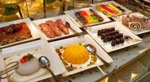 buffet dessert noel