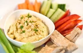 collation crudites et houmous