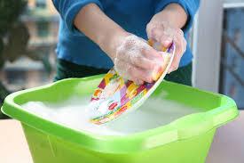 faire vaisselle