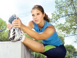 femme fait sport