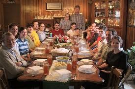 noel table famille