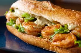 sandwich crevette
