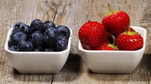 bleuet et fraise