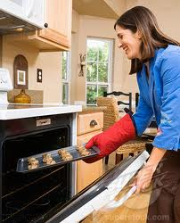 femme cuisine biscuit