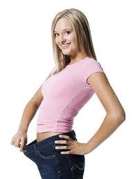 femme perdue du poids