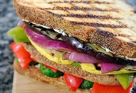 sandwich avec legumes