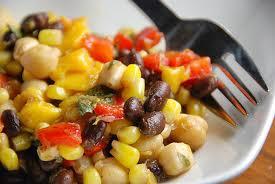 salade avec bean