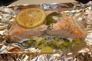 saumon papilotte