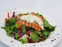saumon salade