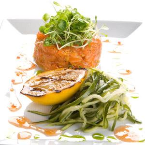 saumon tartare