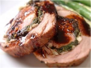 recette filet porc farci