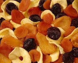 fruits séchjées