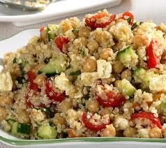 pois chiche et quinoa