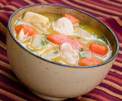 poulet soupe