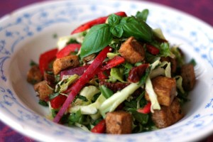 recette salade tofu