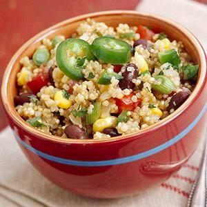 recette quinoa haricots
