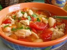 recette soupe poulet