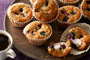 fruits muffins