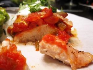 salsa poulet