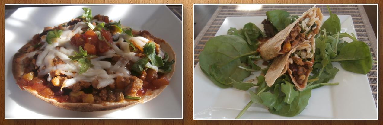 Recette de mini pizzas mexicaines improvis e maigrir for Assaisonnement tacos maison