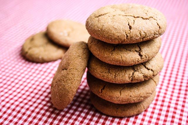 Recette de biscuits au gingembre et épices