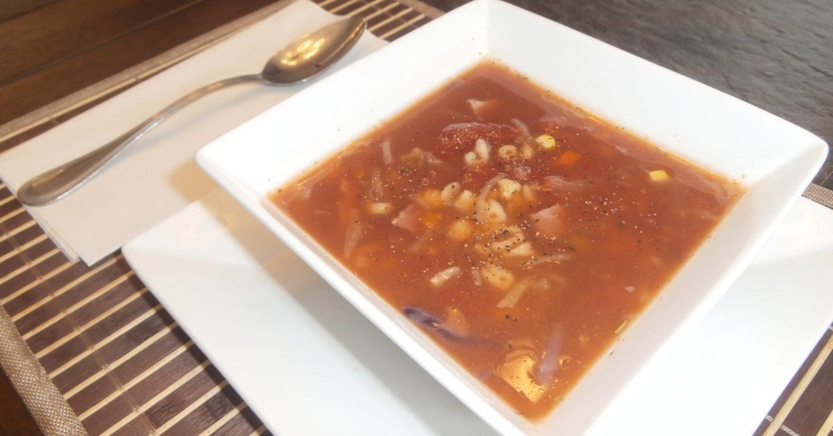 Ma recette de soupe protéiné aux choux