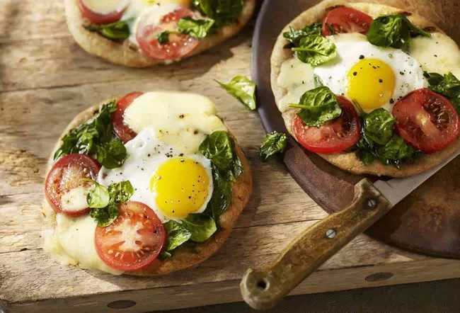 Pizza matinale énergisant