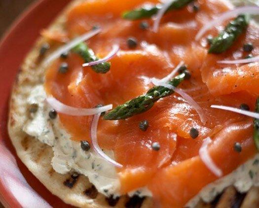 pizza minceur au saumon fum maigrir sans faim. Black Bedroom Furniture Sets. Home Design Ideas