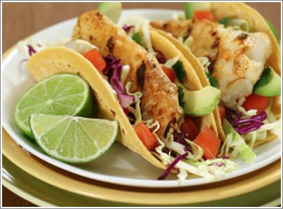 Des tacos aux poissons minceur « Maigrir Sans Faim