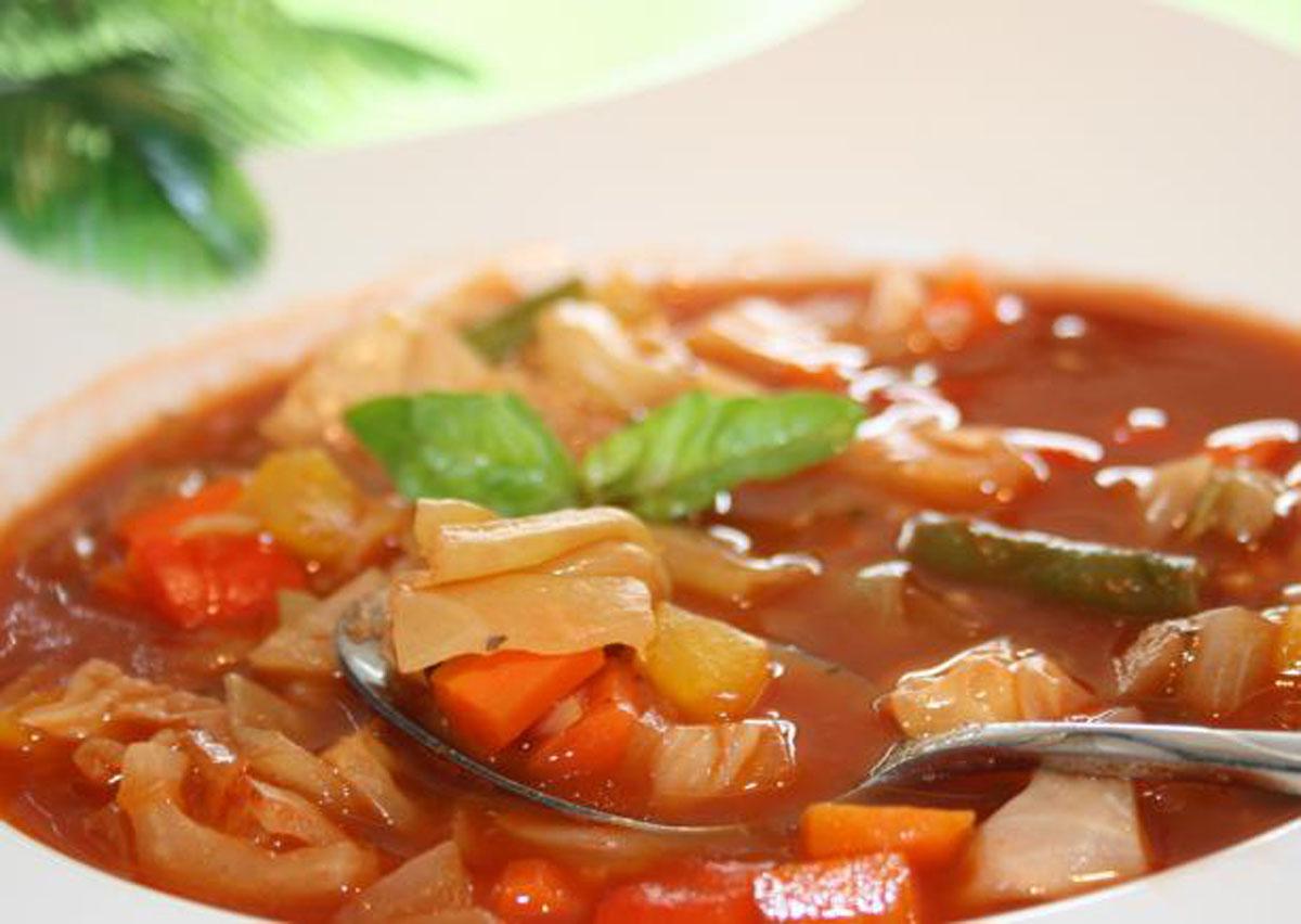 Ma recette de soupe au chou et tomates