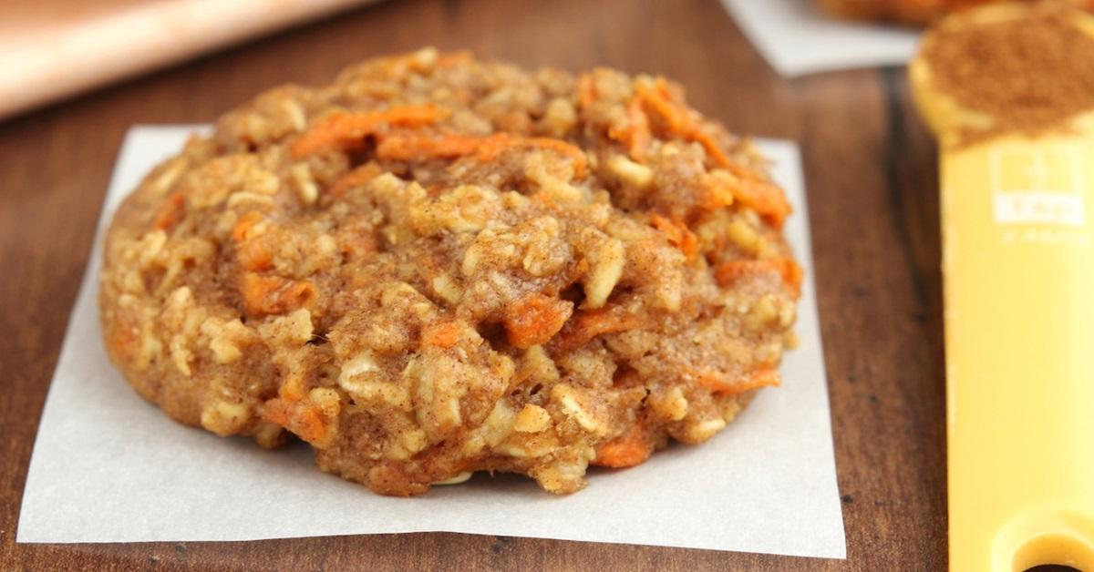 Recette allégée de biscuit aux carottes