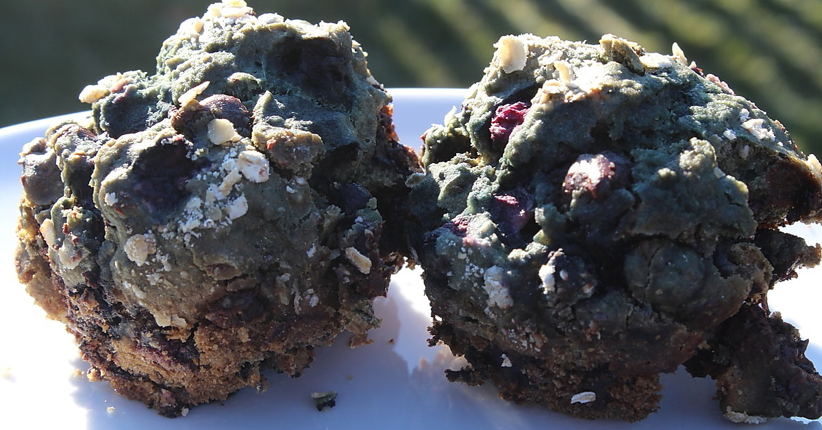 Muffins aux bleuets nourrissants
