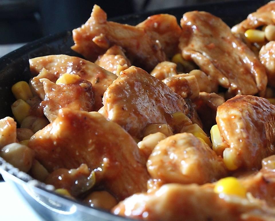 Fajitas au poulet express