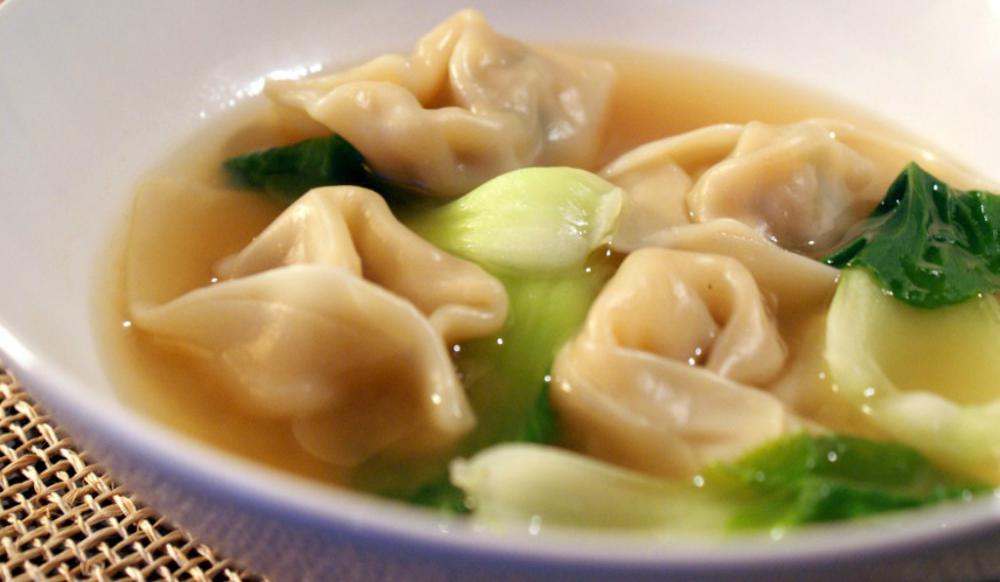 Soupe won-ton au porc