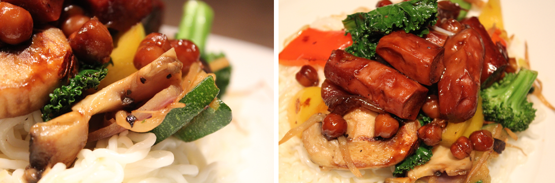 Casserole asiatique végétarienne