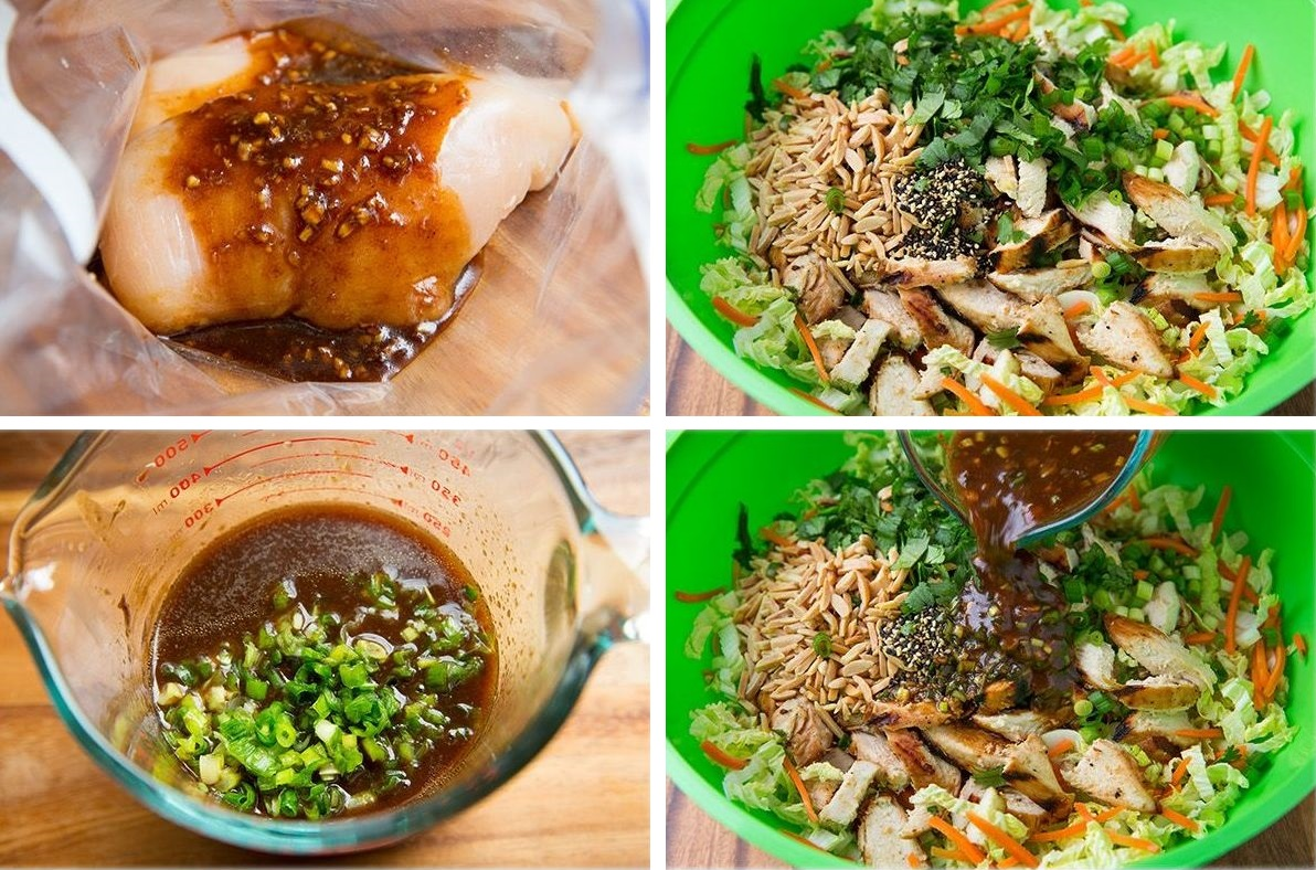 recette de salade fra cheur au poulet maigrir sans faim. Black Bedroom Furniture Sets. Home Design Ideas